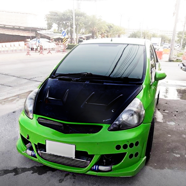 FRONT FACE GD HONDA JAZZ