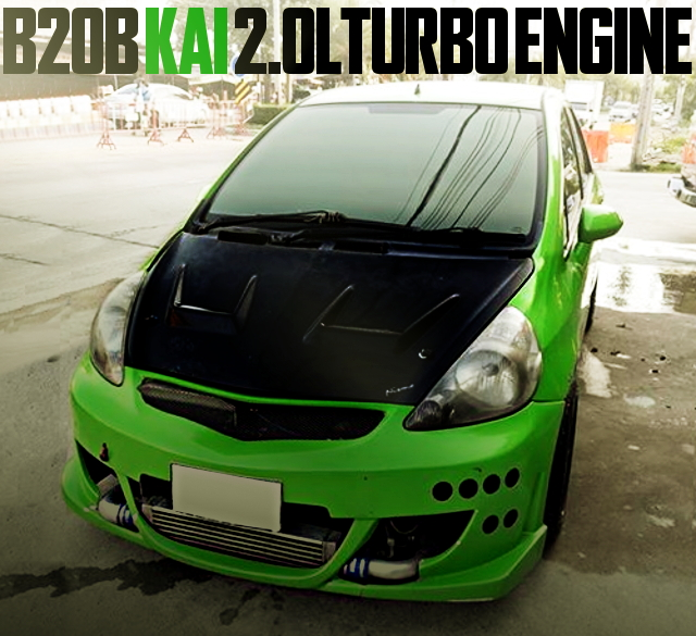 B20B 2000cc TURBO GD HONDA JAZZ
