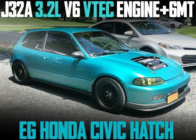 J32A V6 VTEC EG CIVIC