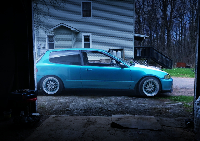 RIGHT SIDE EG CIVIC HATCH