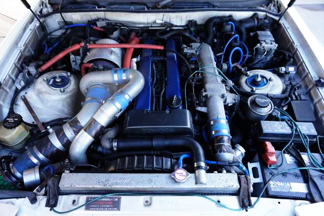 1JZ-GTE ENGINE WITH TD06-25G TURBO