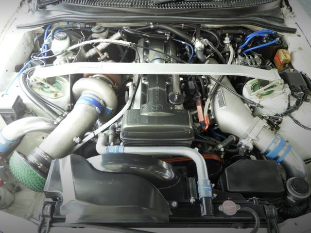 2JZ-GTE ENGINE T88-33D TURBO