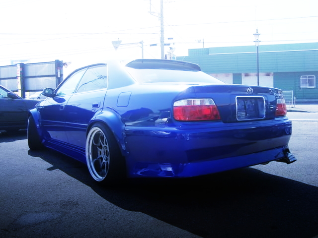 REAR JZX100 CHASER BLUE