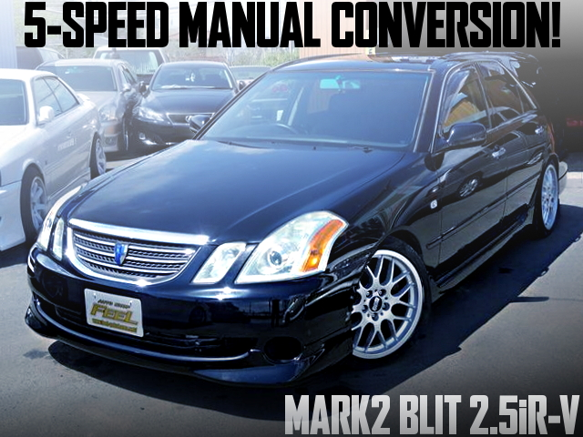 5-SPEED MANUAL JZX110W MARK2 BLIT