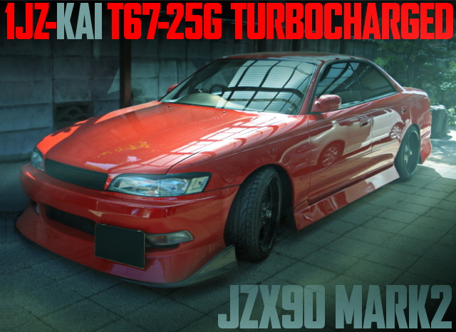 TRUST TURBOCHARGED JZX90 MARK2