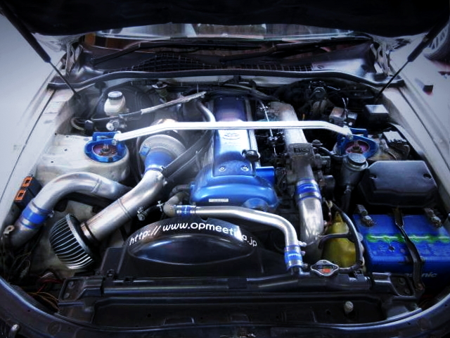VVTi 1JZ ENGINE WITH TD06H-25G TURBO
