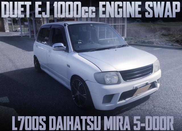DUET 1000cc SWAP L700S MIRA
