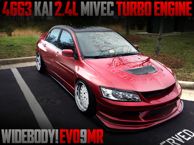 4G63 2400cc EVO9MR