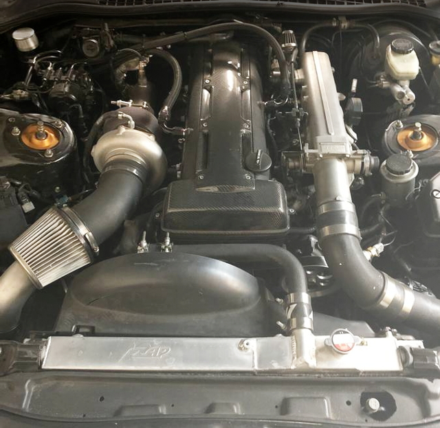 2JZ-GTE ENGINE PRECISION 6266 TURBO