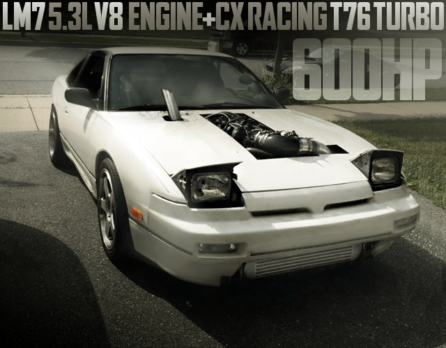 LM7 V8 TURBO ENGINE S13 240SX
