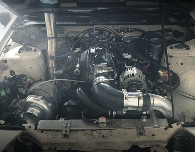 LM7 V8 ENGINE WITH CXRacing T76 TURBO KIT
