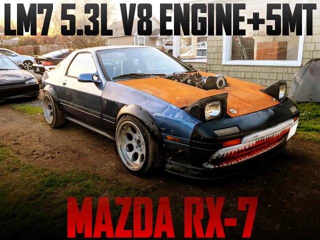 V8 ENGINE FC MAZDA RX-7