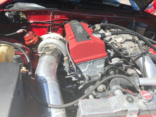 F20C VTEC ENGINE WITH TURBO
