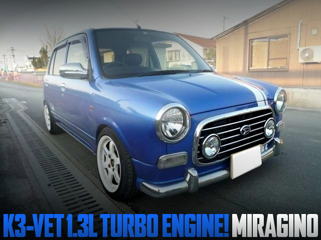 K3-VRET 1300cc TURBO ENGINE MIRAGINO