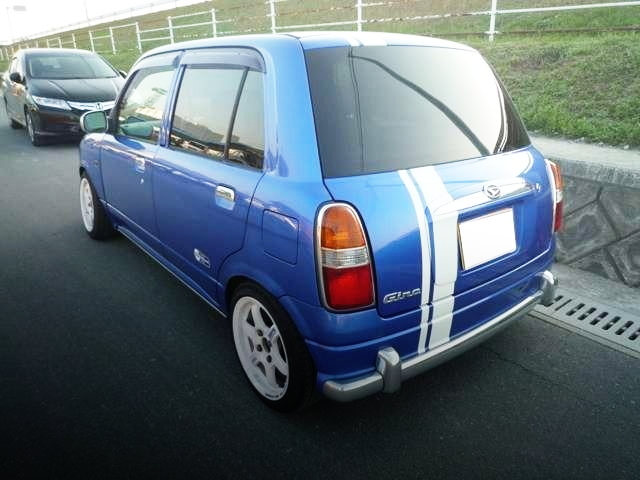 REAR EXTERIOR L700 MIRAGINO 5-DOOR BLUE