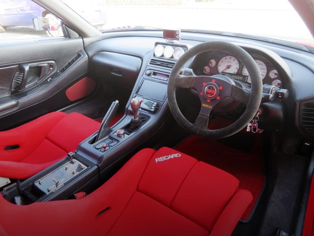 INTERIOR FROM NA1 NSX