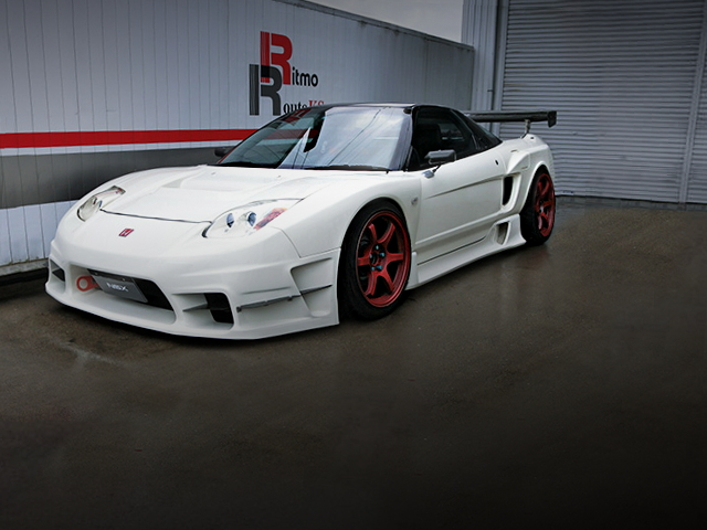 FRONT EXTERIOR NA1 NSX WIDEBODY WHITE