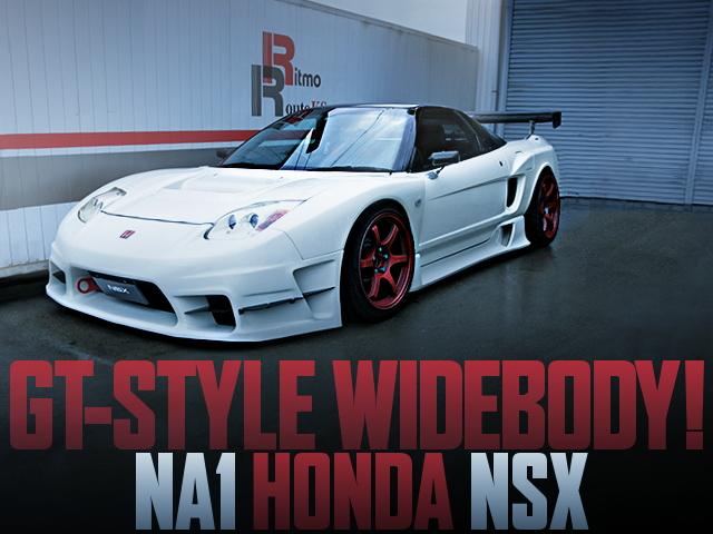 NA1 HONDA NSX GT-STYLE WIDEBODY