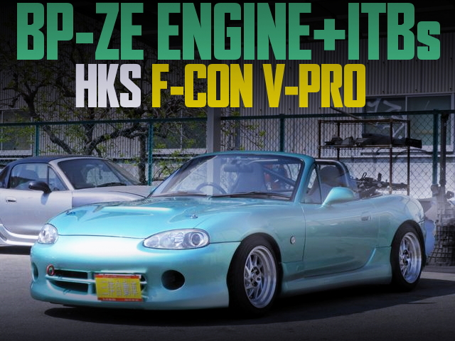 BP-ZE ENGINE ITBs NB8C ROADSTER