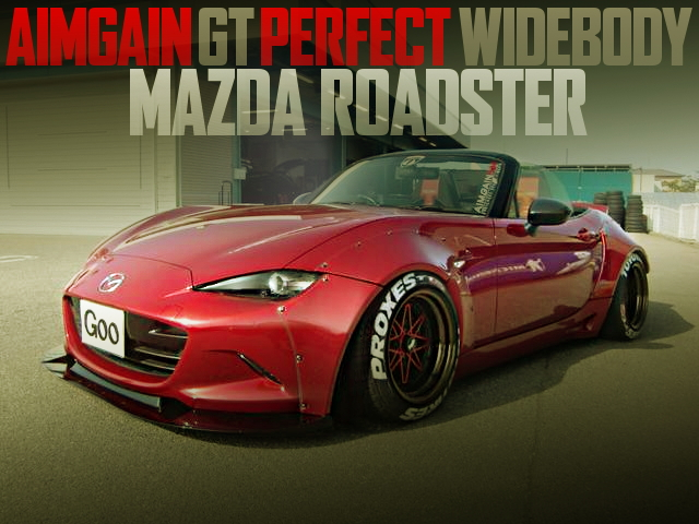AIMGAIN GT PERFECT BODY ND5RC ROADSTER