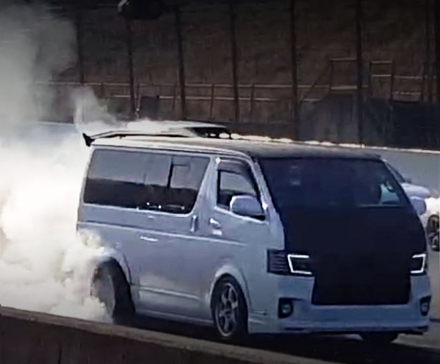H200 HIACE DRAG RACE