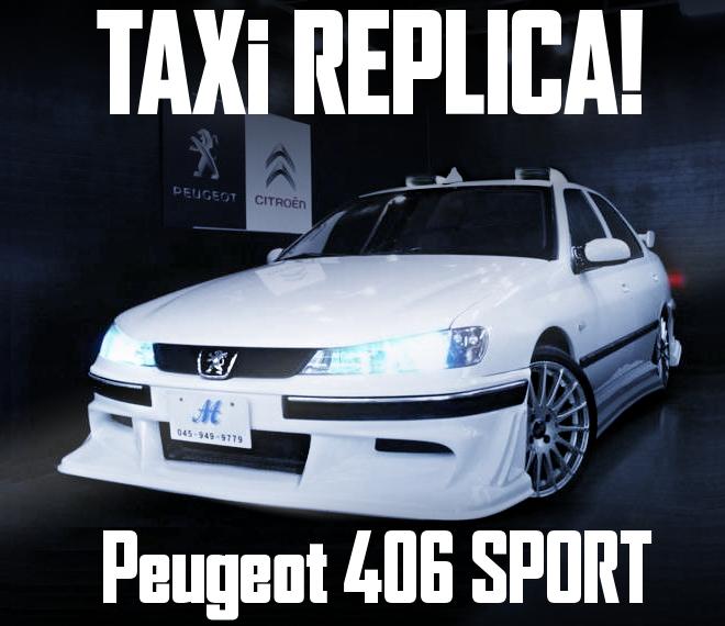 TAXI REPLICA PEUGEOT 406 SPORT