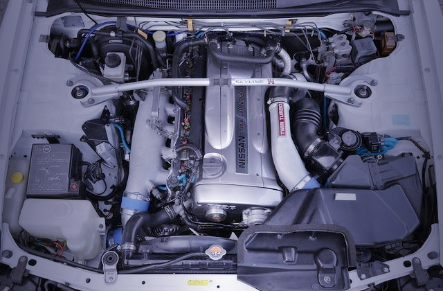 NVCS ON RB26 TWINTURBO ENGINE