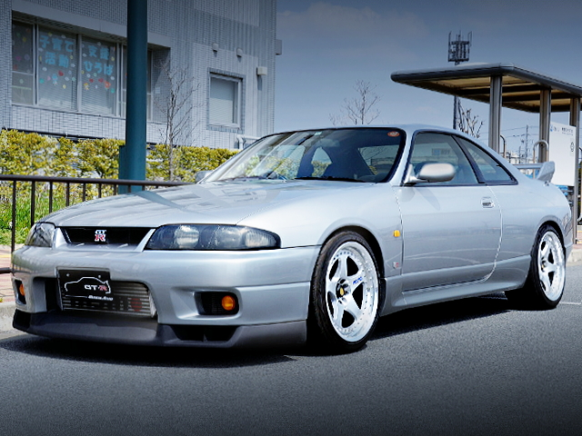 FRONT FACE R33 SKYLINE GT-R