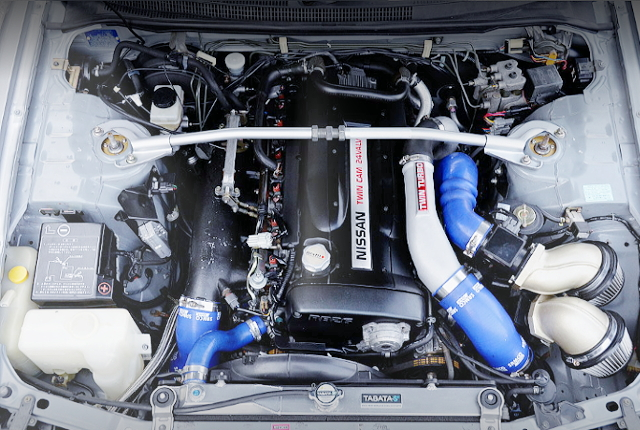 RB26DETT TWINTURBO ENGINE