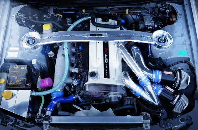 RB26DETT TWIN TURBO ENGINE
