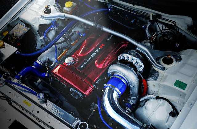 RB26 ENGINE WITH T88-33D SINGLE TURBO
