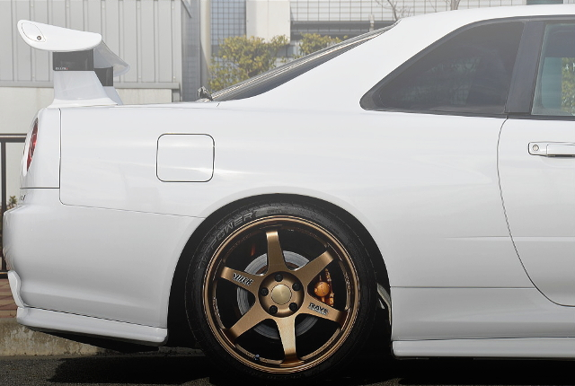 REAR TE37 WHEEL