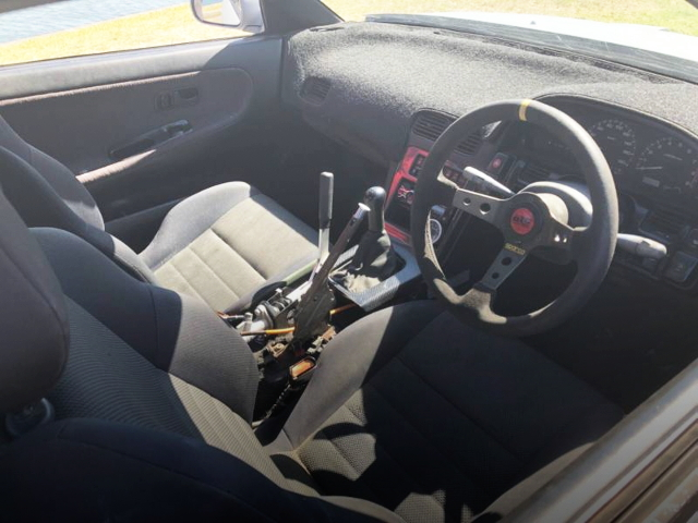INTERIOR HAND BRAKE INSTALL FROM 180Sx