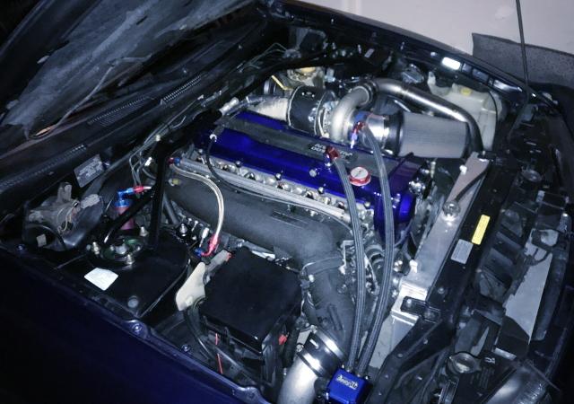 RB25DET ENGINE SWAP