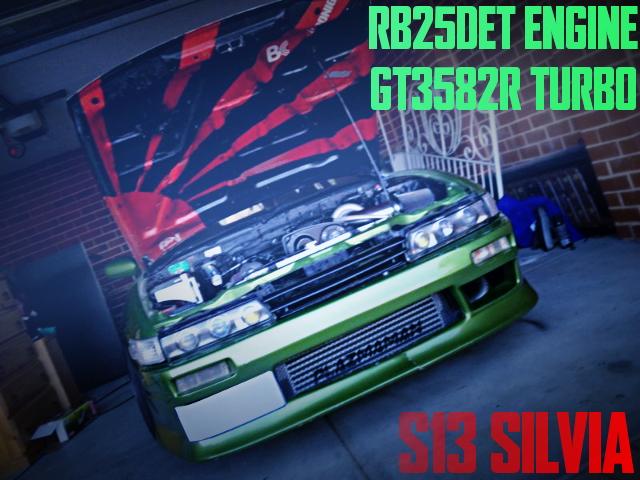 GT3582R RB25DET S13 SILVIA