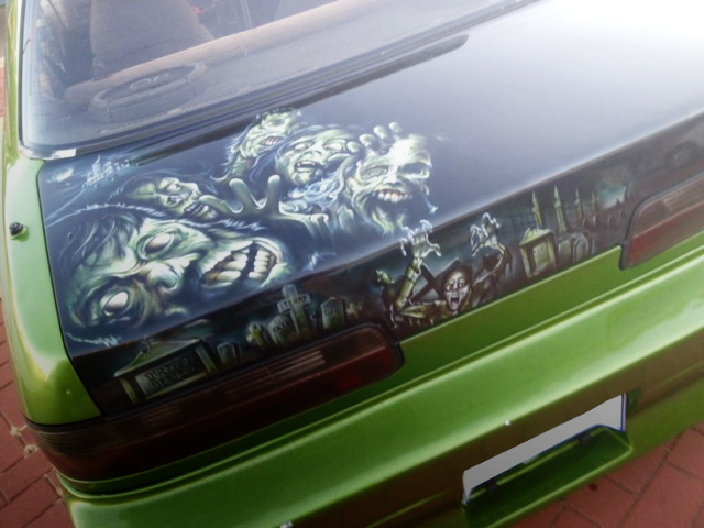 TRUNK CUSTOM PAINT