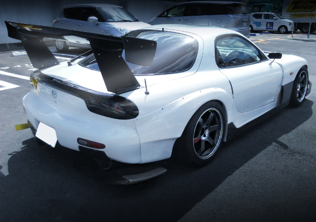 REAR EXTERIOR RE-AMEMIYA AD-GT2 FD3S RX-7
