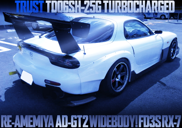 RE-AMEMIYA AD-GT2 WIDEBODY FD3S RX-7