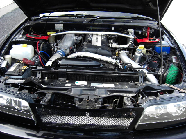 BLACK-TOP SR20DET ENGINE