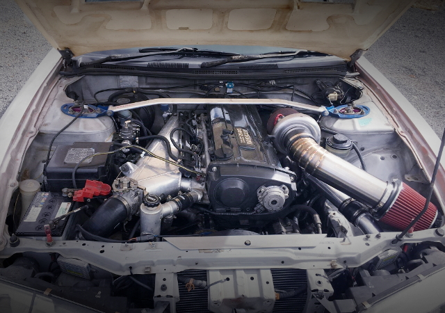 RB30DET TURBO ENGINE