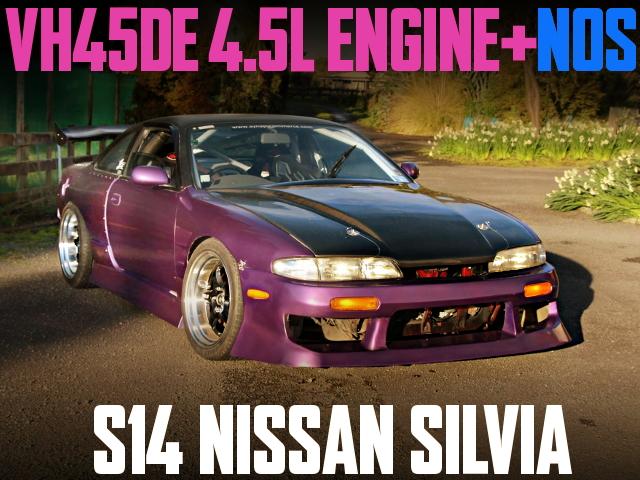 VH45 V8 S14 ZENKI SILVIA