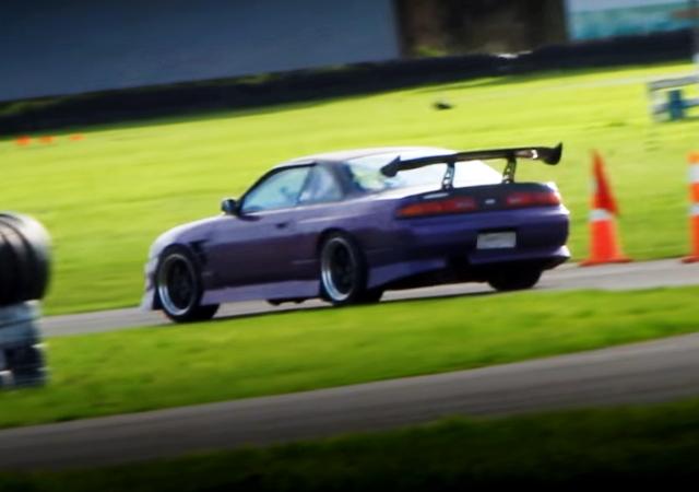 REAR EXTERIOR RACE S14 SILVIA