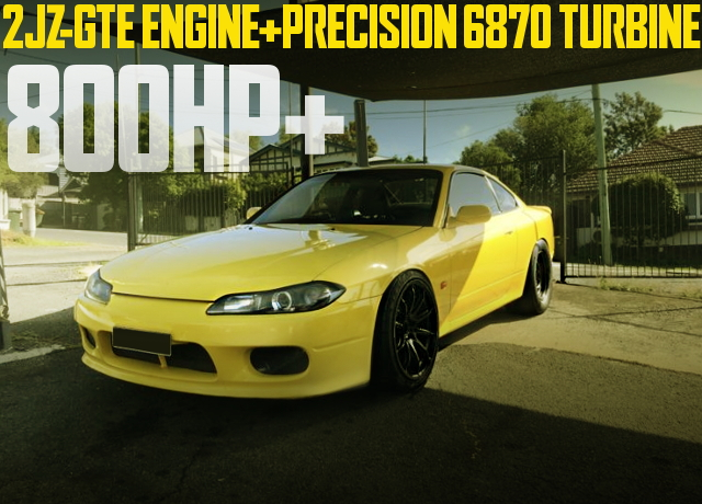 2JZ-GTE PRECISION TURBO S15 200SX