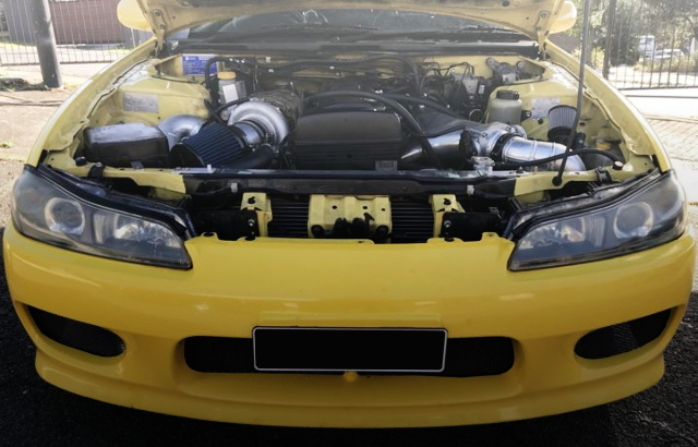 S15 200 SX ENGINE ROOM