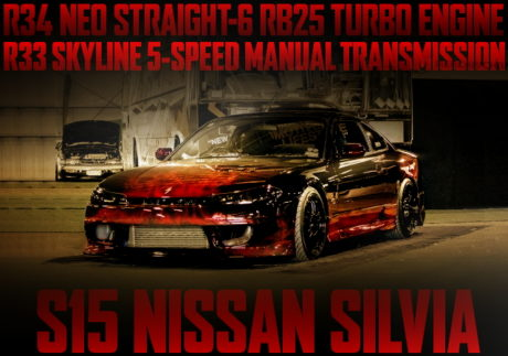 R34 NEO6 RB25DET S15 SILVIA