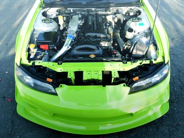 BLACK TOP SR20DET ENGINE