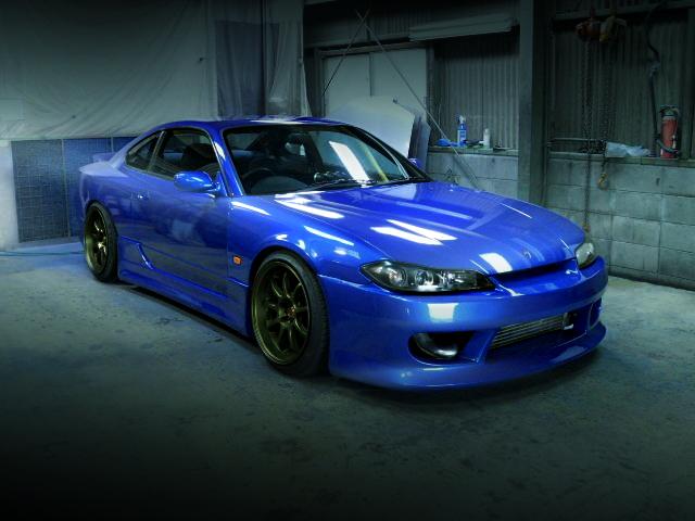 FRONT EXTERIOR S15 SILVIA SPEC-S BLUE