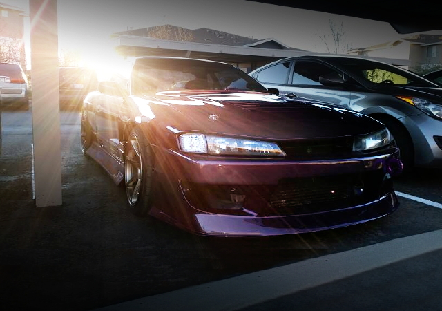 FRONT EXTERIOR S14 FACE S13 240SX