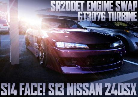 SR20DET SWAP S14 KOUKI FACE S13 240SX
