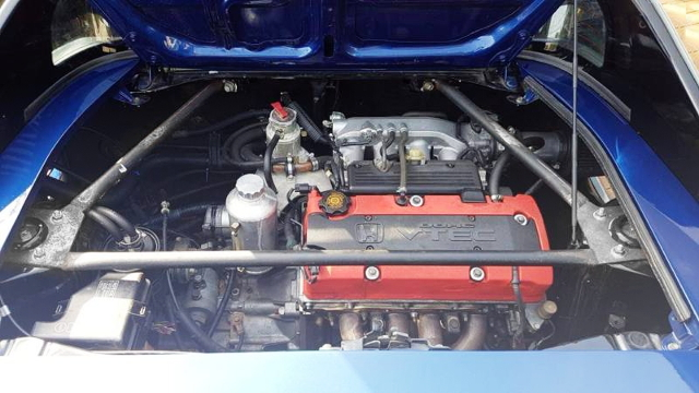 S2000 F20C ENGINE SWAP FROM SW20 MR2 MID-SHIP